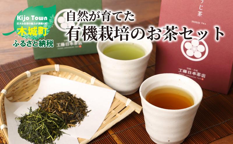 K11_0001_1 自然が育てた有機栽培のお茶セット