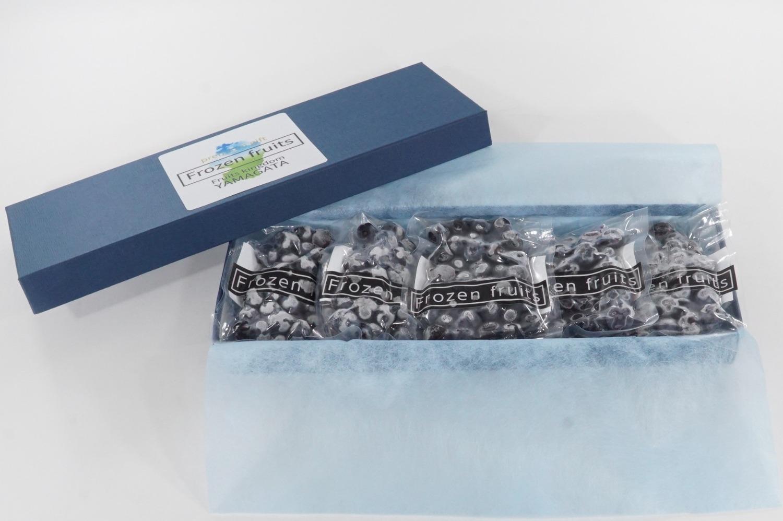 冷凍フルーツ(ブルーベリー5パック) A-0807