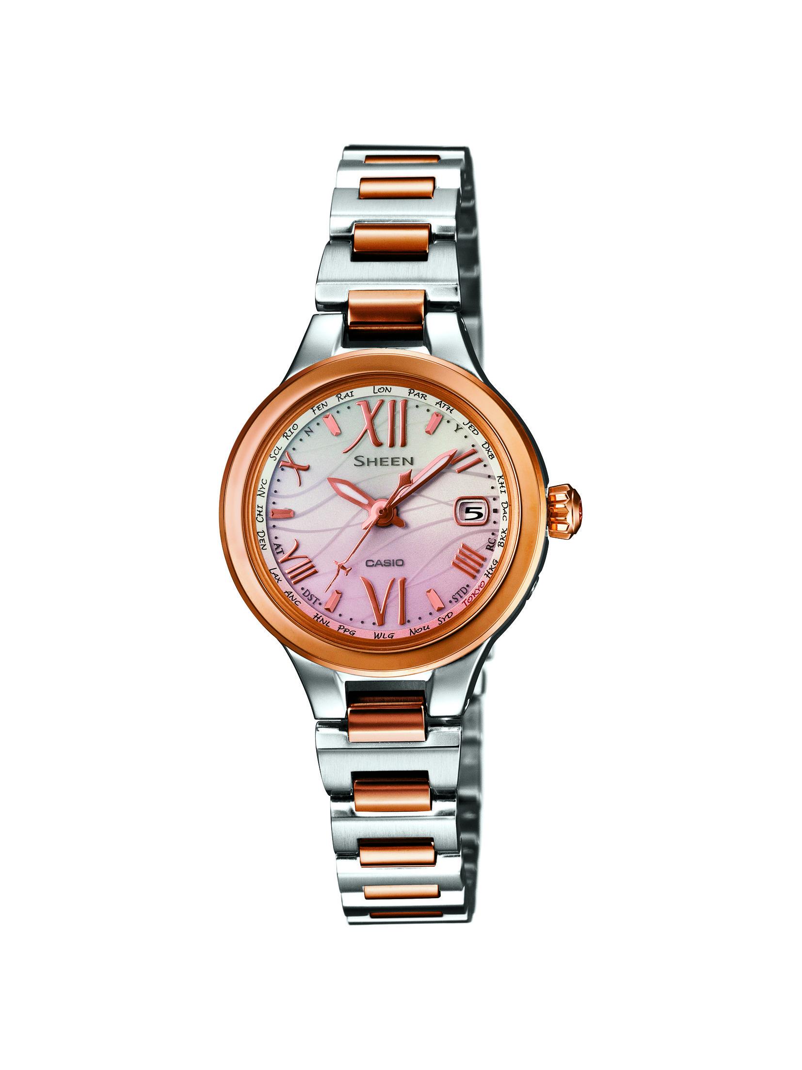 CASIO腕時計 SHEEN SHW-1700SG-4AJF C-0127