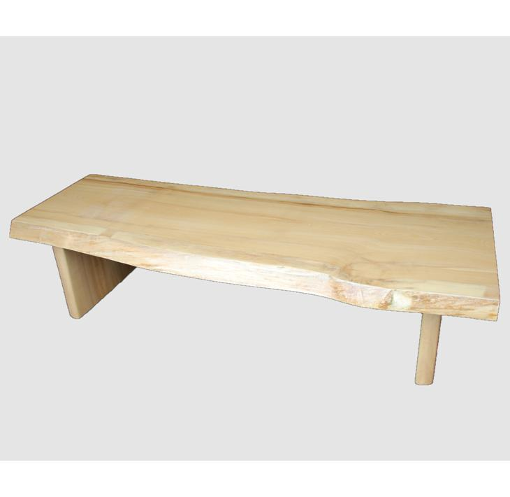 [12]座卓(テーブル)セン・一枚天板【厚さ約4.5cm 10kg】