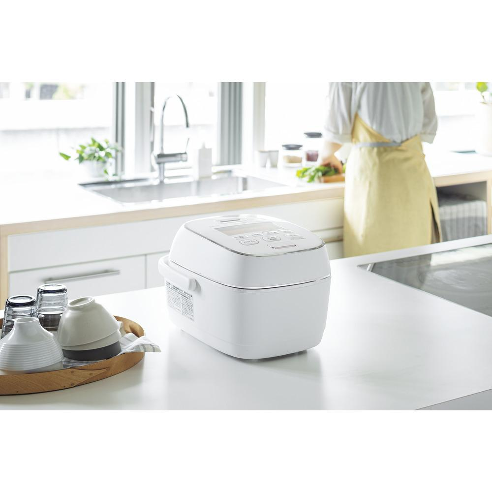象印圧力IH炊飯ジャー(炊飯器) 「炎舞炊き」NWPS10-WZ 5.5合炊き 粉雪
