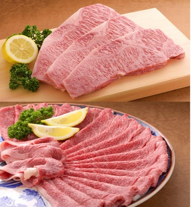 CF017_佐賀牛ステーキとしゃぶしゃぶすき焼き用(サーロイン200g×4枚・佐賀牛もも1kg)
