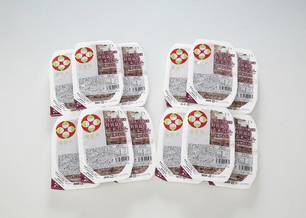 雪若丸 玄米パックごはん 12個