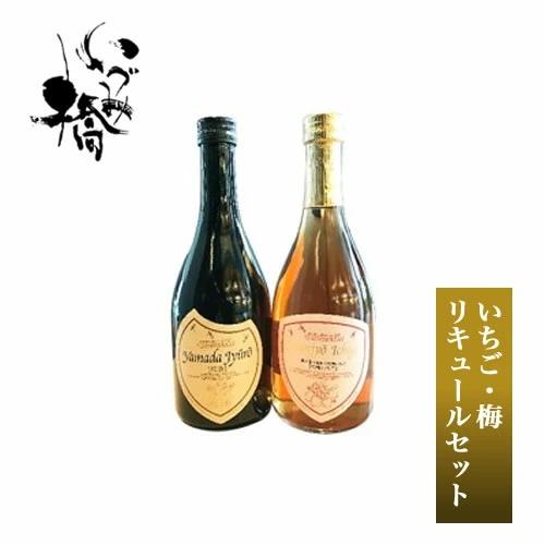 27-0008 地元神奈川の果実(いちご・梅)リキュールセット5826-0062