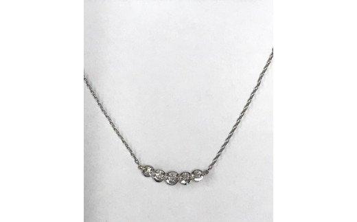 プラチナ製 ダイヤモンド ペンダント