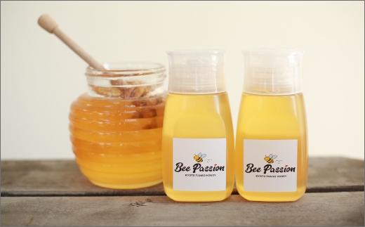 KYOTOTANGOHONEY森の百花蜜純粋天然ハチミツ300g(ボトル)×2本