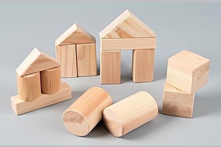 C4041 村上市産材でつくる乳児向け木製積み木