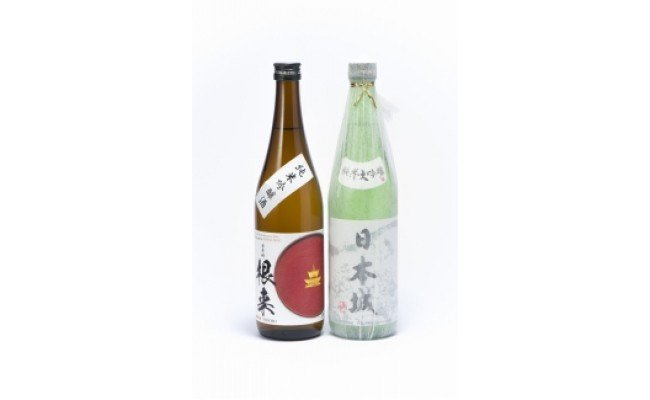 ZD6156_「日本城」純米大吟醸酒と純米吟醸酒「根来」720ml飲み比べセット