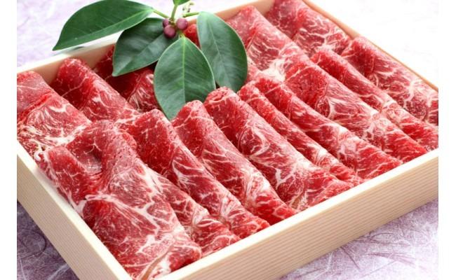 沖縄県産黒毛和牛赤身すき焼き用(八重瀬町産)