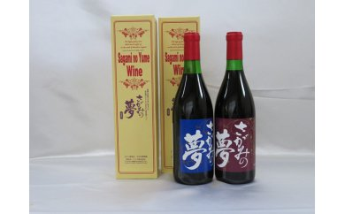 さがみの夢ワイン飲みくらべ2本セット(「レギュラー」辛口1本「ロックワイン」甘口1本)