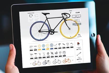 200-02 10兆×10億通りから世界に1台のオリジナル自転車をCocci Pedaleで作ろう(060)(購入補助券60000円分)