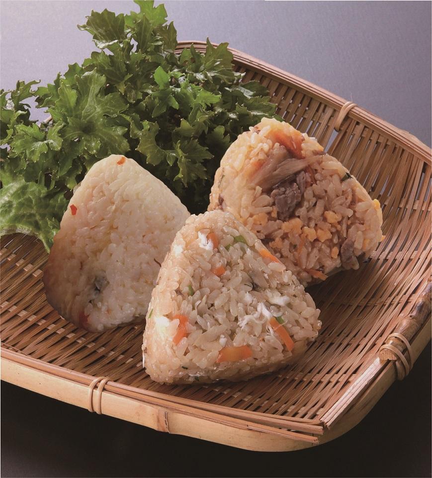 EW009_便利なレンジでチン♪佐賀県産夢しずくで作るみつせ鶏おにぎり90g×12