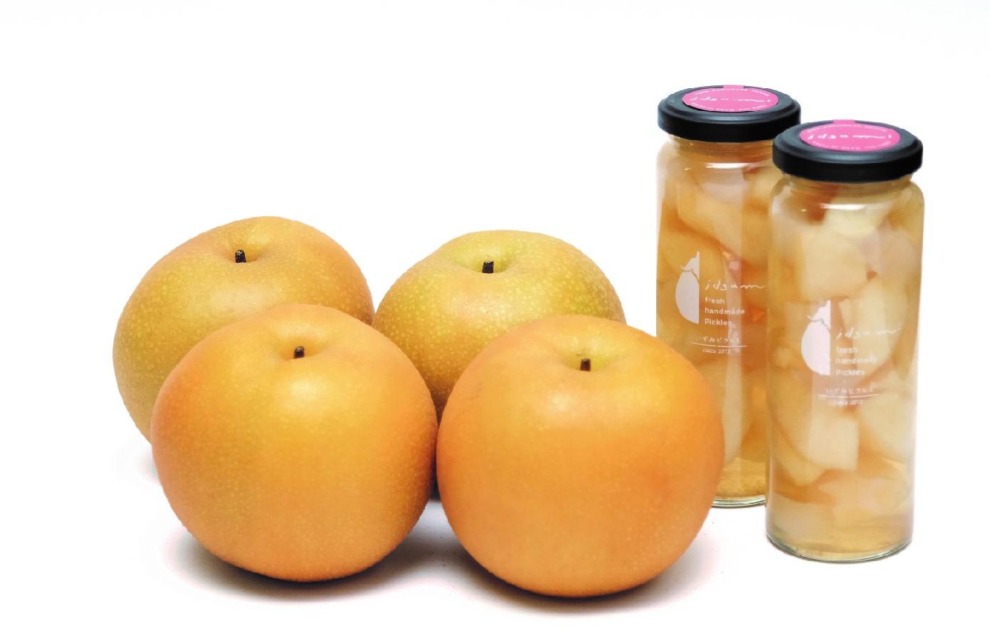 099H509 【期間限定】梨と梨のコンポートセット(梨4個、梨のコンポート2個)