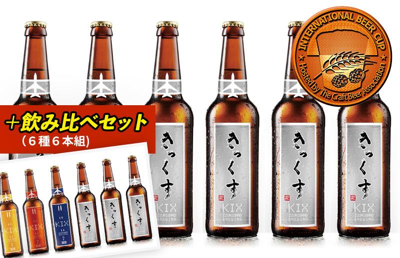 020C094 【期間限定】KIX BEER飲み比べセット18本(デュンケル12本+6種6本)