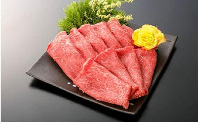 【大府市特産】A5黒毛和牛『下村牛』 特選すきしゃぶ(カタ・モモ・バラ肉などの中から最高の部位をご提供)500g