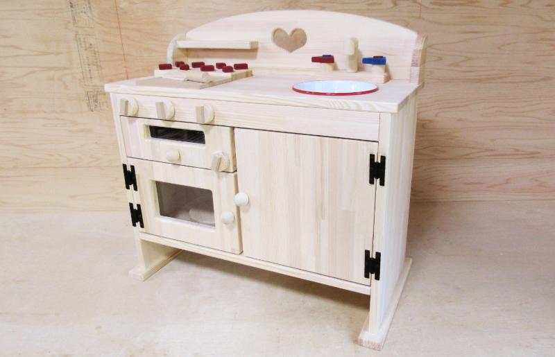 099H297 手作り木製 ままごとキッチン GHK-5