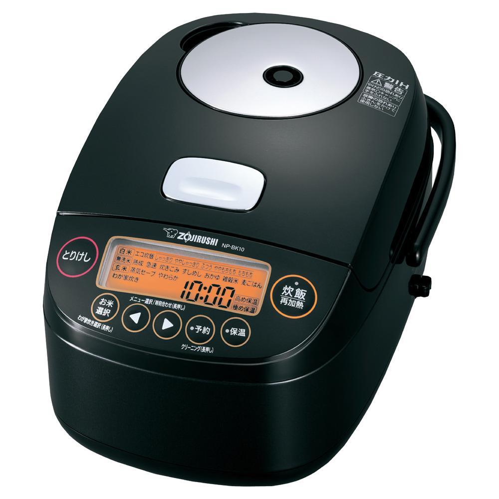象印圧力IH炊飯ジャー(炊飯器) 「極め炊き」NPBK10-BA 5.5合炊き ブラック