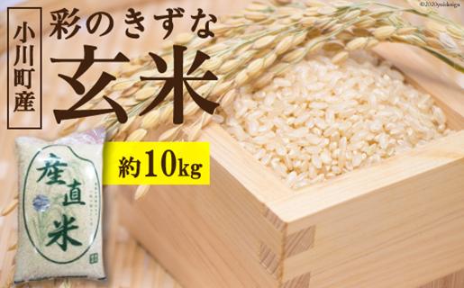 No.136 小川町産 彩のきずな玄米 10kg