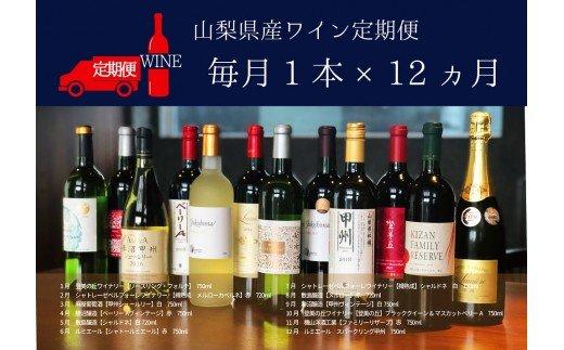 ワイン定期便 毎月飲み比べ12本 B Presents by Katerial
