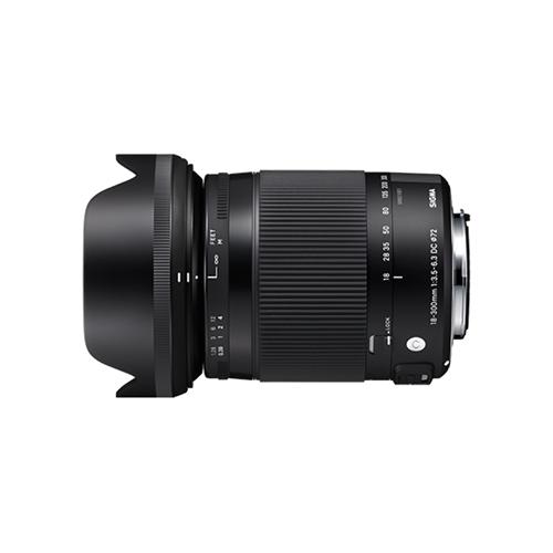 カメラ レンズ 家電 SIGMA 18-300mm F3.5-6.3 DC MARO OS HSM | Contemporary【ニコンFマウント用】