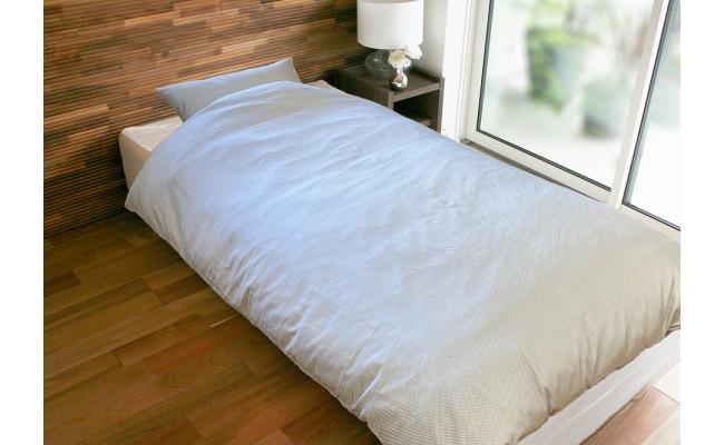 甲州織 シルク掛け布団カバー(絹100%)【シングル】 150cm×210cm 日本製