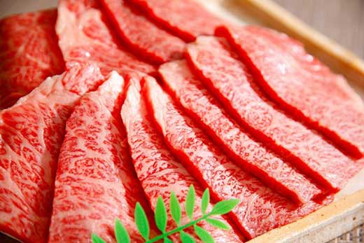 近江牛バラ焼肉希少部位【1kg】折箱入り【H010SM】