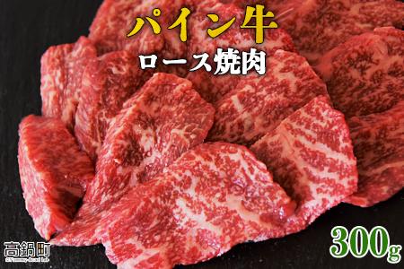 <パイン牛ロース焼肉 300g>翌月末迄に順次出荷【c820_yu】