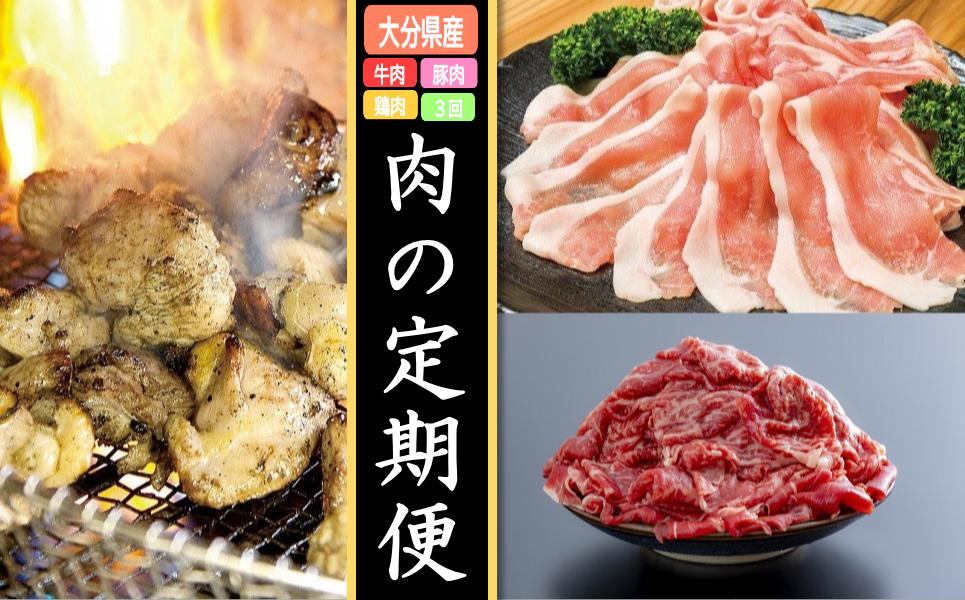GA-02 【牛・豚・鳥】肉の定期便 年3回