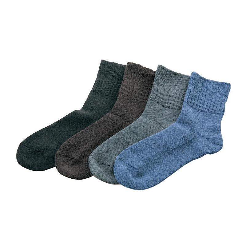 履き口が広い人気のふんわりソックス4足セット Lサイズ