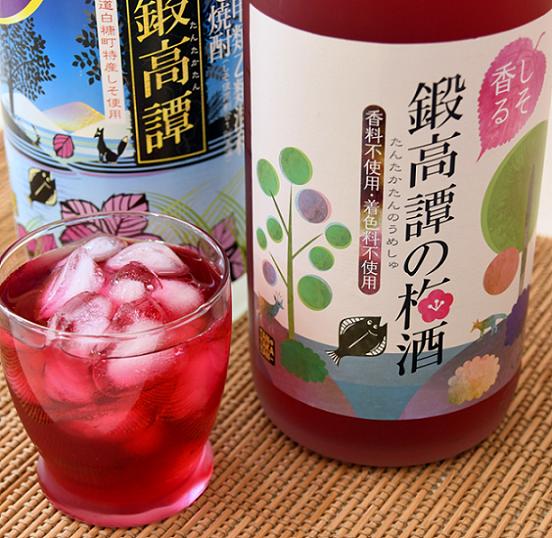 鍛高譚(たんたかたん)・鍛高譚の梅酒[1800ml]【6本セット】
