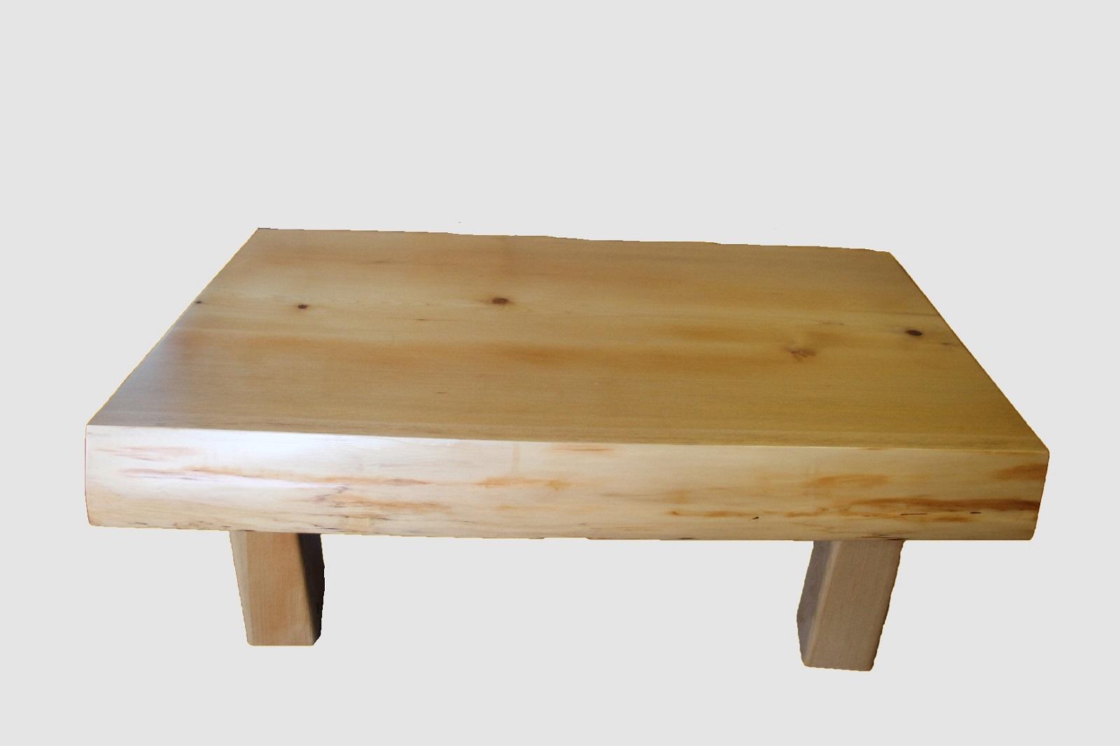 【50】座卓(テーブル)ヒノキ・一枚天板【厚さ約9.5cm】