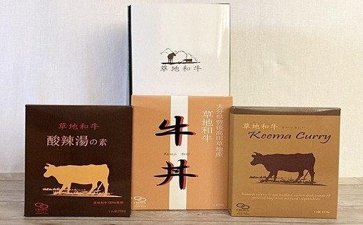 B1-05 【草地和牛】レトルト 3種詰合せB