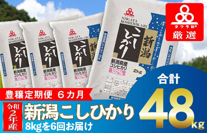 099Z012 タワラ印新潟コシヒカリセット 6か月定期便