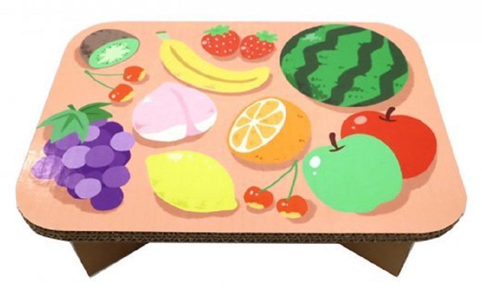 #table フルーツ(ぴんく)