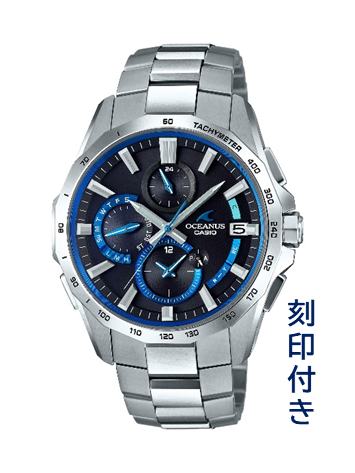 CASIO腕時計 OCEANUS OCW-S4000-1AJF ≪刻印付き≫ C-0120