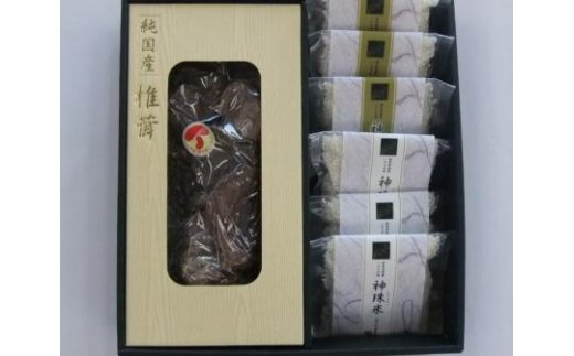 ※七宗ふるさとスペシャル神珠米バラエティギフトB(椎茸)