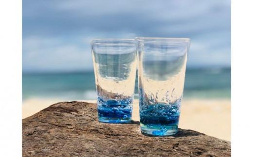 OKINAWA オーシャン ビアグラス 2個セット