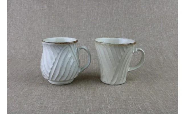 涌井陶芸 マグカップ(乳白)