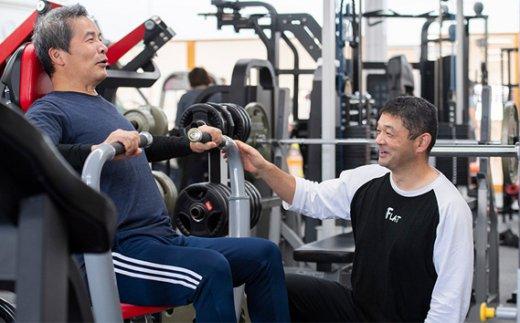 No.215 fitnessclub flat ジム施設利用券 10回分 / スポーツジム トレーニング チケット 群馬県