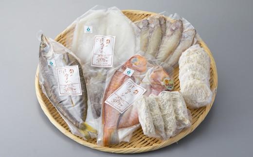 020M6 宮津湾の恵み 冷凍魚介バラエティセット[髙島屋選定品]