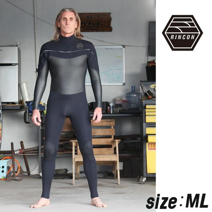23-0040 ウエットスーツ RINCON 3/2mm icon-Shell-Light フルスーツ FALL/WINTER仕様  MLサイズ