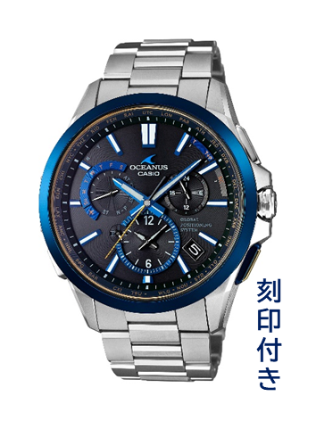 CASIO腕時計 OCEANUS OCW-G1100TG-1AJF ≪刻印付き≫ C-0114