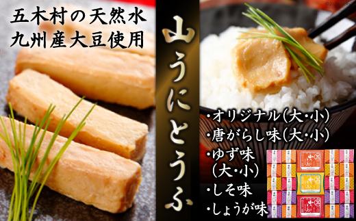 No.040 五木屋本舗の山うにとうふ「雅」 / 豆腐 味噌漬 九州産大豆・天然水使用 熊本県 特産
