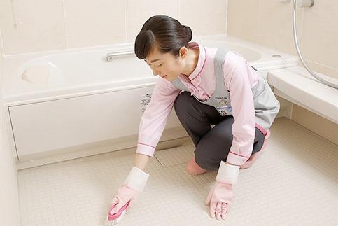 ダスキン発祥の地!ダスキン1号店の浴室クリーニング! H133-003