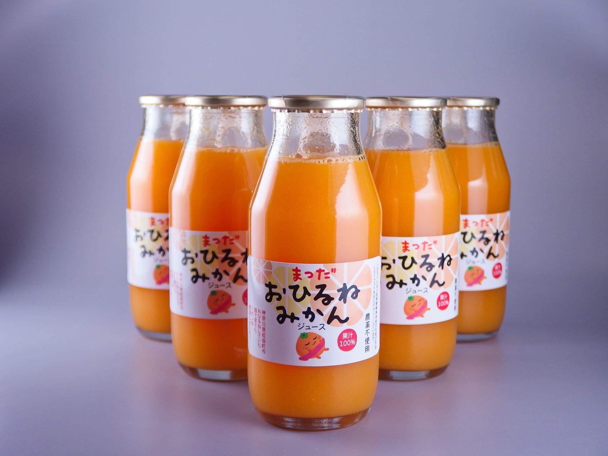 【数量限定】おひるねみかんジュース180ml 24本