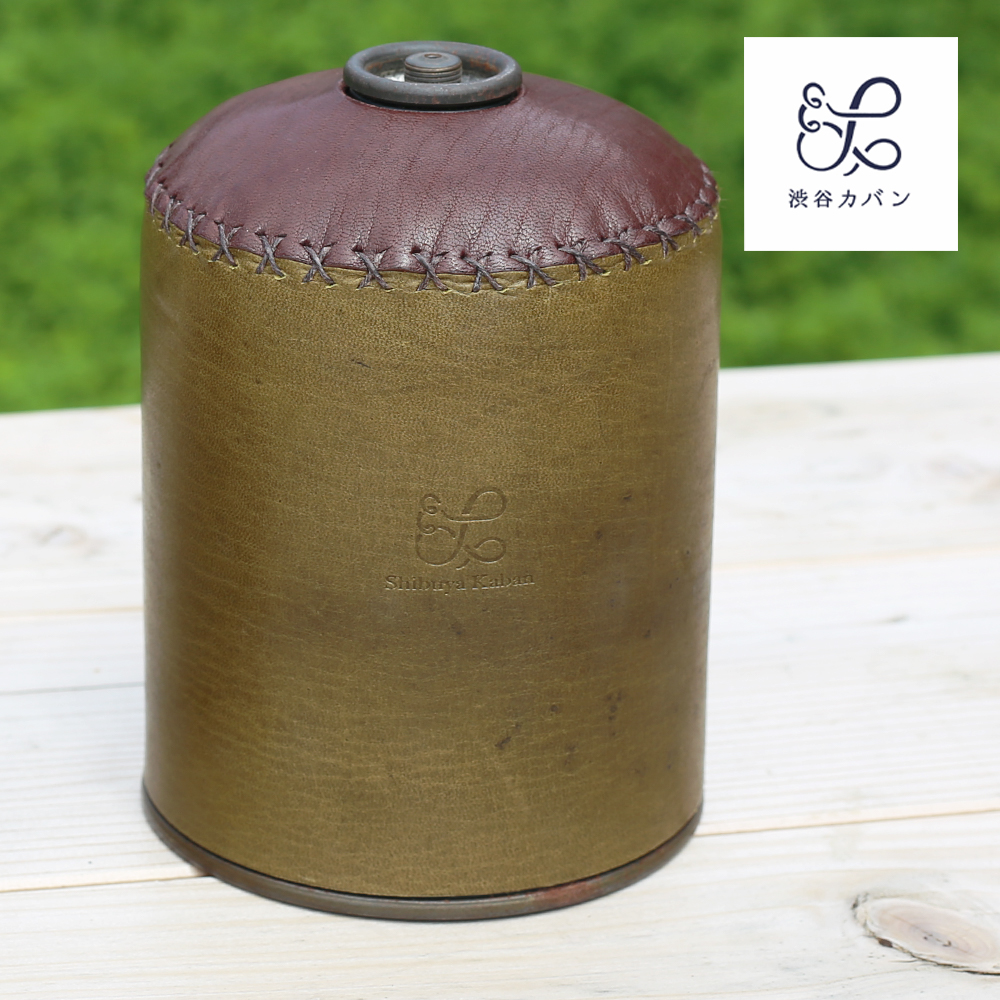 Z16 鹿革OD缶カバー 500