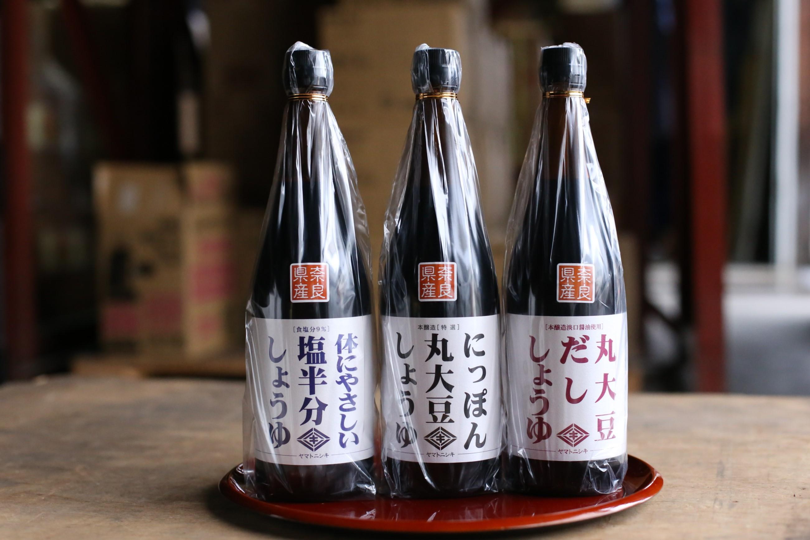 010-029 ニシキ醤油厳選  720ml瓶3本組セット