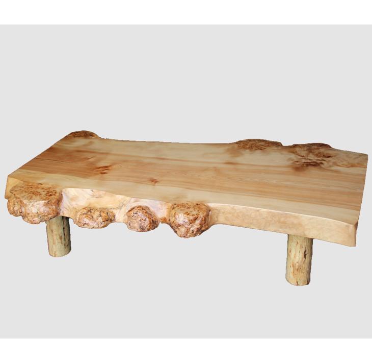 [05]座卓(テーブル)カバ・一枚天板【厚さ約6cm 27kg】