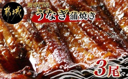 鰻専門店・職人手焼きの本格うなぎ蒲焼き3尾_AC-3301
