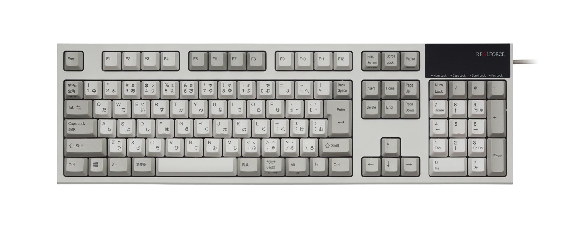 東プレ コンピューターキーボードJP T (型式:R2-JP3-IV AGAZ32)